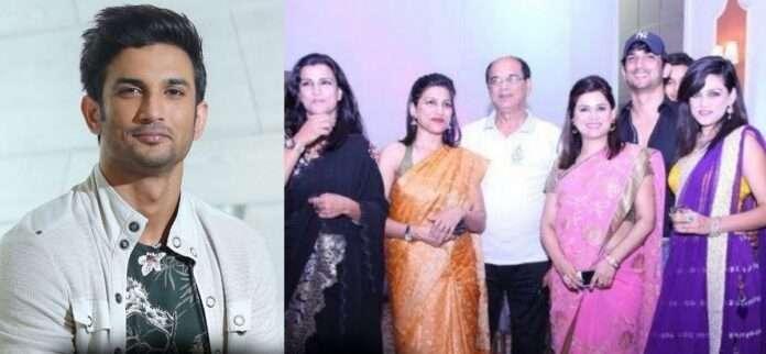 sushant Singh Rajput full family photo