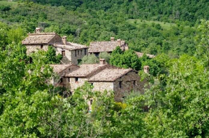 italy small town has only two residents but they always follow all covid-19 safety protocols