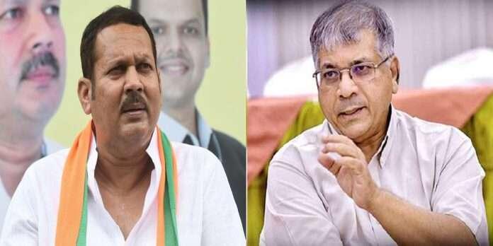 vba president prakash ambedkar criticized udayanraje bhosle