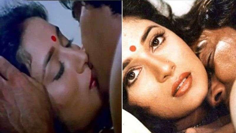 vinod khanna and madhuri dixit bold scene