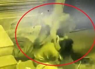 women strangulated in cctv camera crime news