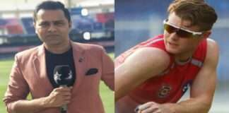 word war between james neesham and akash chopra
