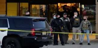 Shooting at Mayfair Mall in the US 8 injured