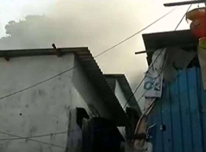 fire broke out in Sakinaka area of Andheri