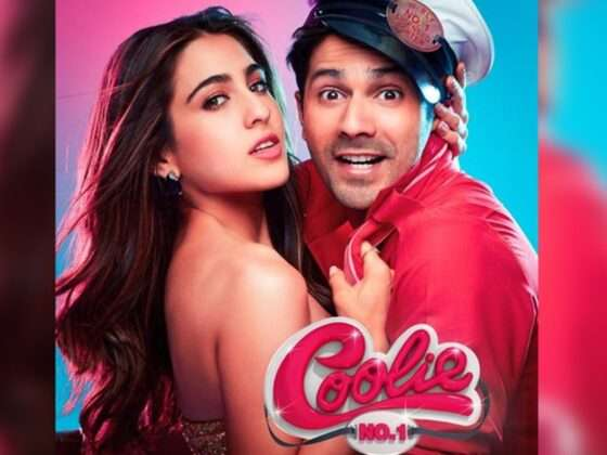 sara and varun romantic photo shoot for coolie no 1