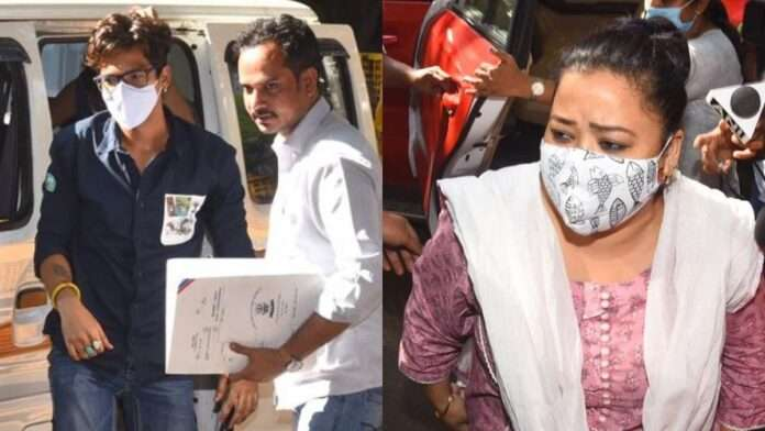 comedian bharti singh husband harsh has also been arrested in drugs case