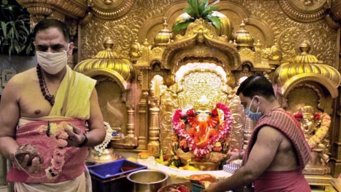 Online booking will be required for Siddhivinayak Darshan