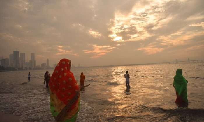 chhath puja celebration in mumbai