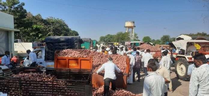 Onion Lasalgaon Market
