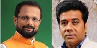 Thane mayor Naresh mhaske and Avinash Jadhav