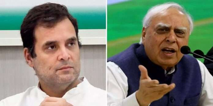 congress senior leader kapil sibal says how can a national party function without a president