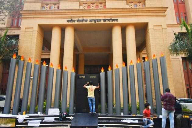 Photo: grand memorial to the martyrs of the 26/11 attacks