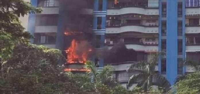 fire in kalyan