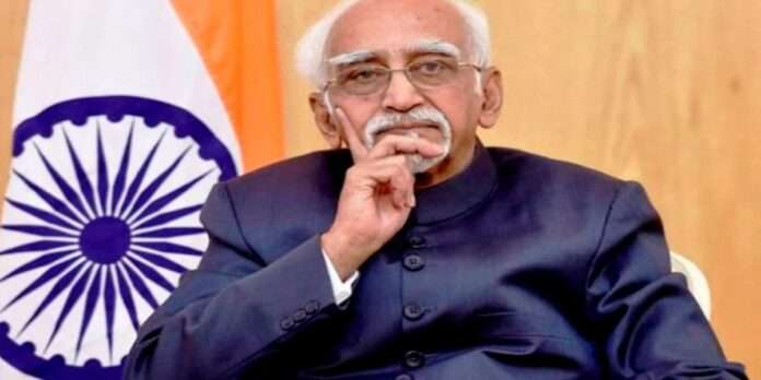 hamid ansari says india has a victim of the epidemic of religious bigotry and aggressive nationalism before corona