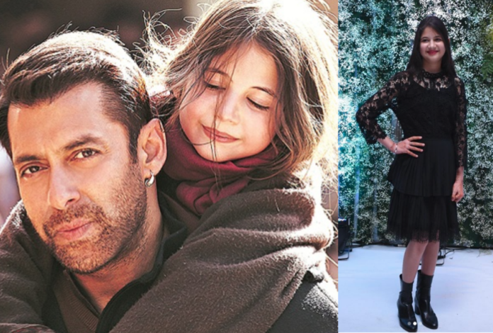 harshali malhotra with salman khan then and after