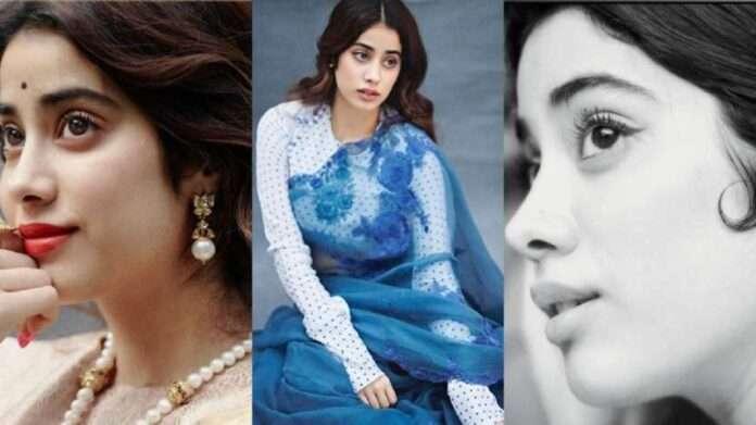 bollywood actress janhvi kapoor 1950 look photo goes viral on social media