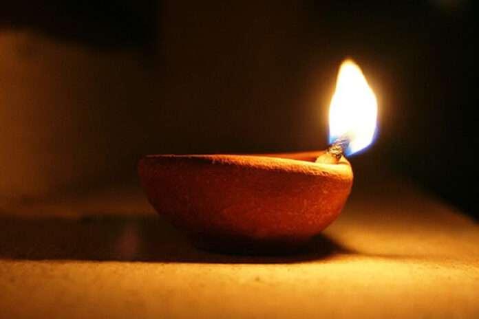 lamp fire