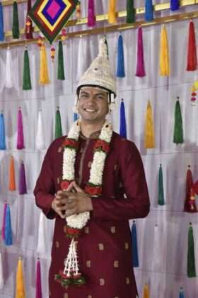 actress sai lokur wedding photo viral on social media