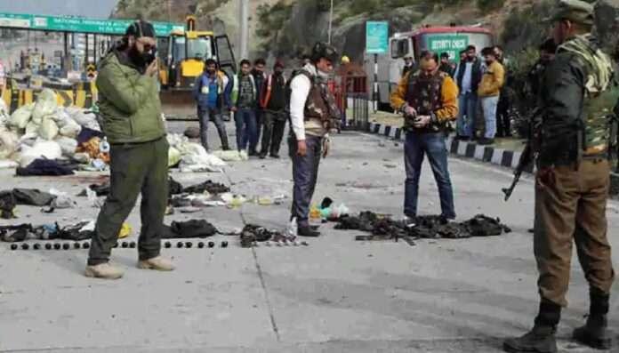 nagrota terror incident