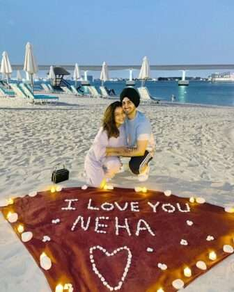 But after seeing these photos, I think Neha will be back soon after her honeymoon.