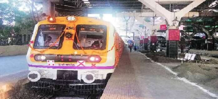 nerul belapur kharkopar local train