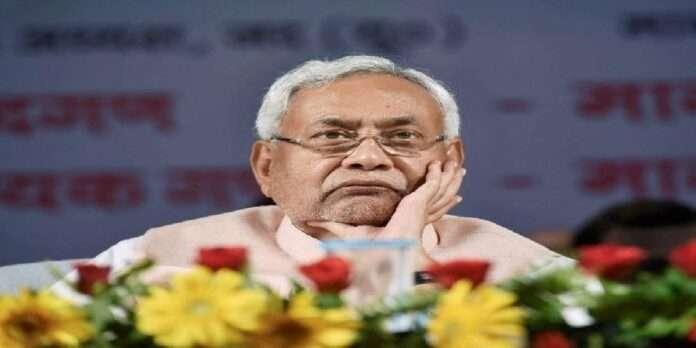 nitish kumar upset on party performance bjp persuades him to stay Bihar CM