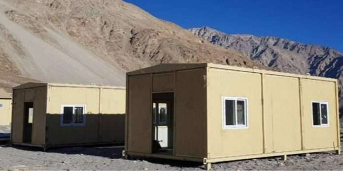 indian army establishes living facilities for all troops deployed in eastern ladakh