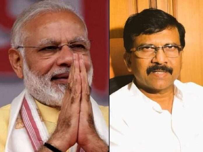 shivsena mp sanjay raut cirticized on pm narendra modi
