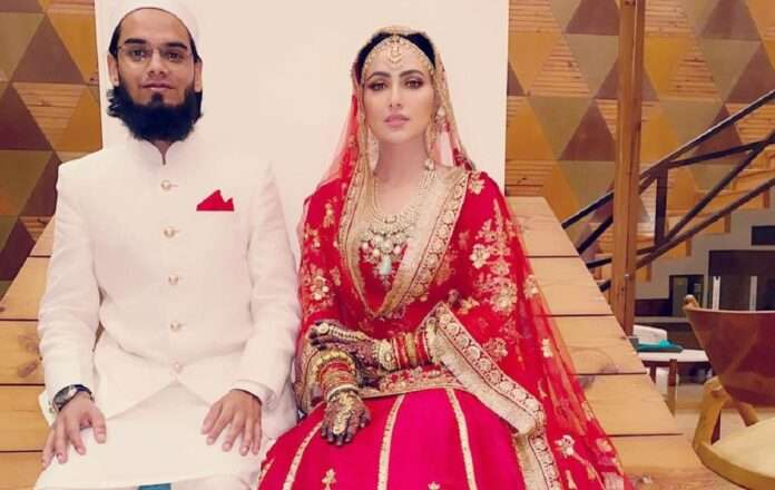 sana khan married with mufti anas