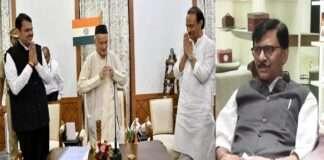 sanjay raut reveal the story of ajit pawar-devendra fadnavis morning oath ceremony