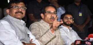sanjay raut, uddhav thackeray and aditya thackeray