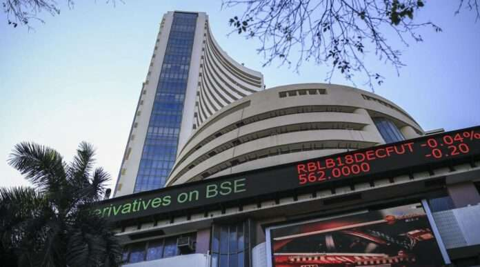 share market sensex nifty record high bse nse it banking