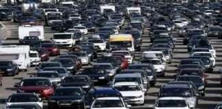 traffic jam in france