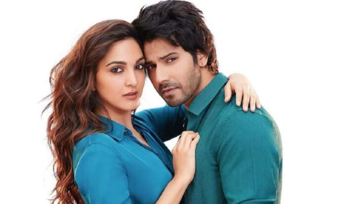 bollywood actor varun dhawan and kiaras sizzling chemistry to be seen in jug jug jio the films first look release