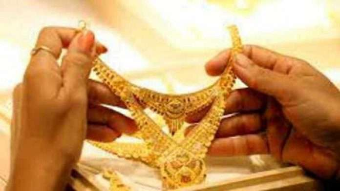 gold price rise in today