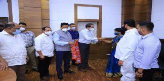 navi mumbai bjp two corporators will join shivsena big loss to ganesh naik