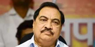 Pune land case ED files charge sheet against Eknath Khadse, wife and son-in-law