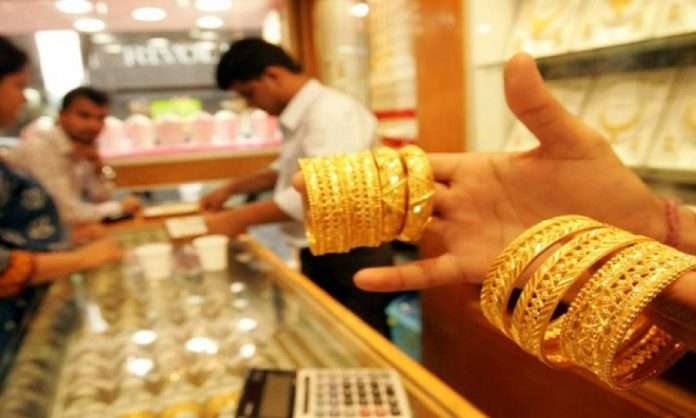 gold price and silver price dips below rupees 45000 today in opening session