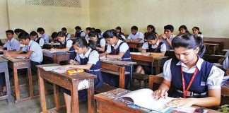 varsha gaikwad 5th to 7th class in rural areas and 8th to 12th class in urban areas
