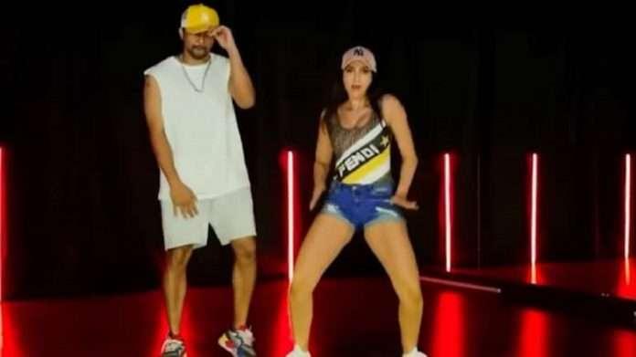 Nora Fatehi kills it in her last dance video of 2020, viral video