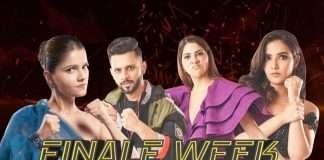 Bigg Boss 14 Finale Nikki Tamboli And Rahul Vaidya Evict From House Jasmin Bhasin Rubina Dilaik In Final Round