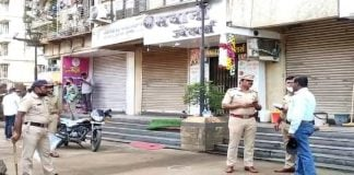 thieves opened fire jewellers shop intent rob in ambarnath