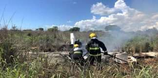 4 football players including club president died due to plane crash in brazil