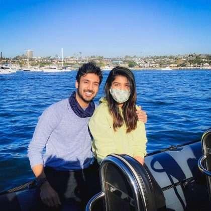 rasika sunil shared photo her boyfriend aditya bilagi on instagram
