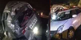 A tragic accident near Karad Three wrestlers from Pune died on the spot