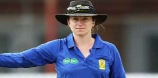 ind vs aus first time woman will be umpire in test cricket claire polosak australia