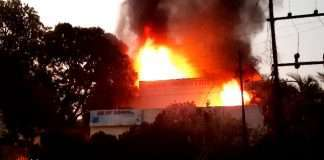 Fire in Ambad MIDC