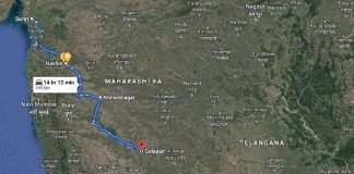 Gujrat-Nashik proposed Highway