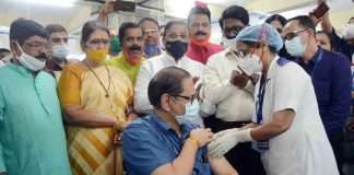 Corona Vaccination of 40 lakh citizens above 45 years of age in 2 months