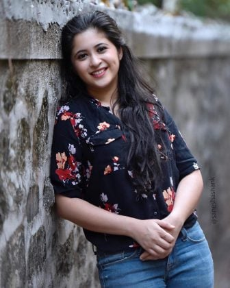 Actress Gayatri Datar's entry in Planet Talent